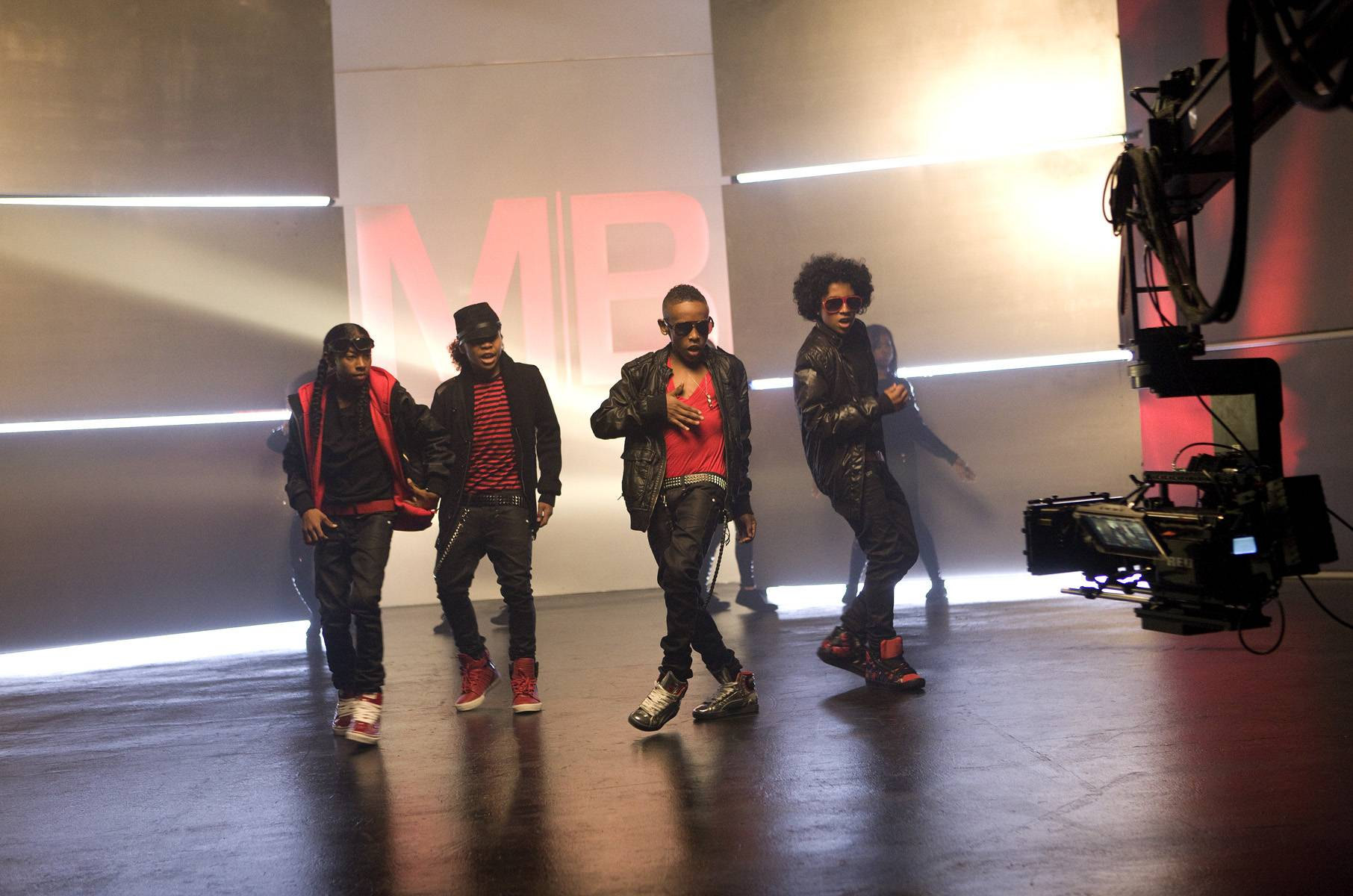 #5. Practice, Practice - To get their dance moves just right, Mindless Behavior practices 8 hours a day.