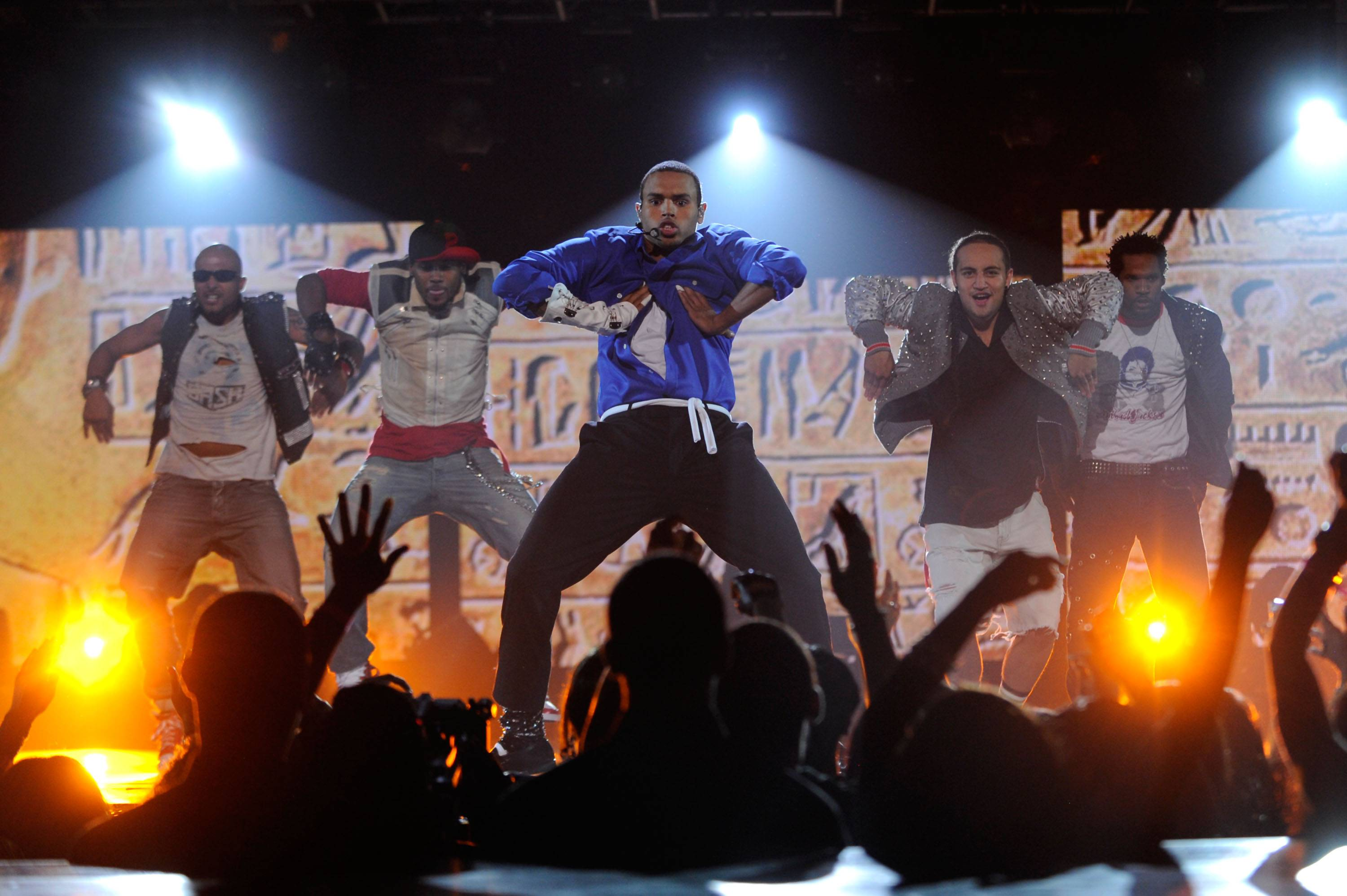 Chris Brown - Chris Brown channeled the gloved one for a breathtaking Michael Jackson tribute at the 2010 BET Awards at the Shrine Auditorium on June 27, 2010, in Los Angeles.(Photo: Frank Micelotta/PictureGroup)