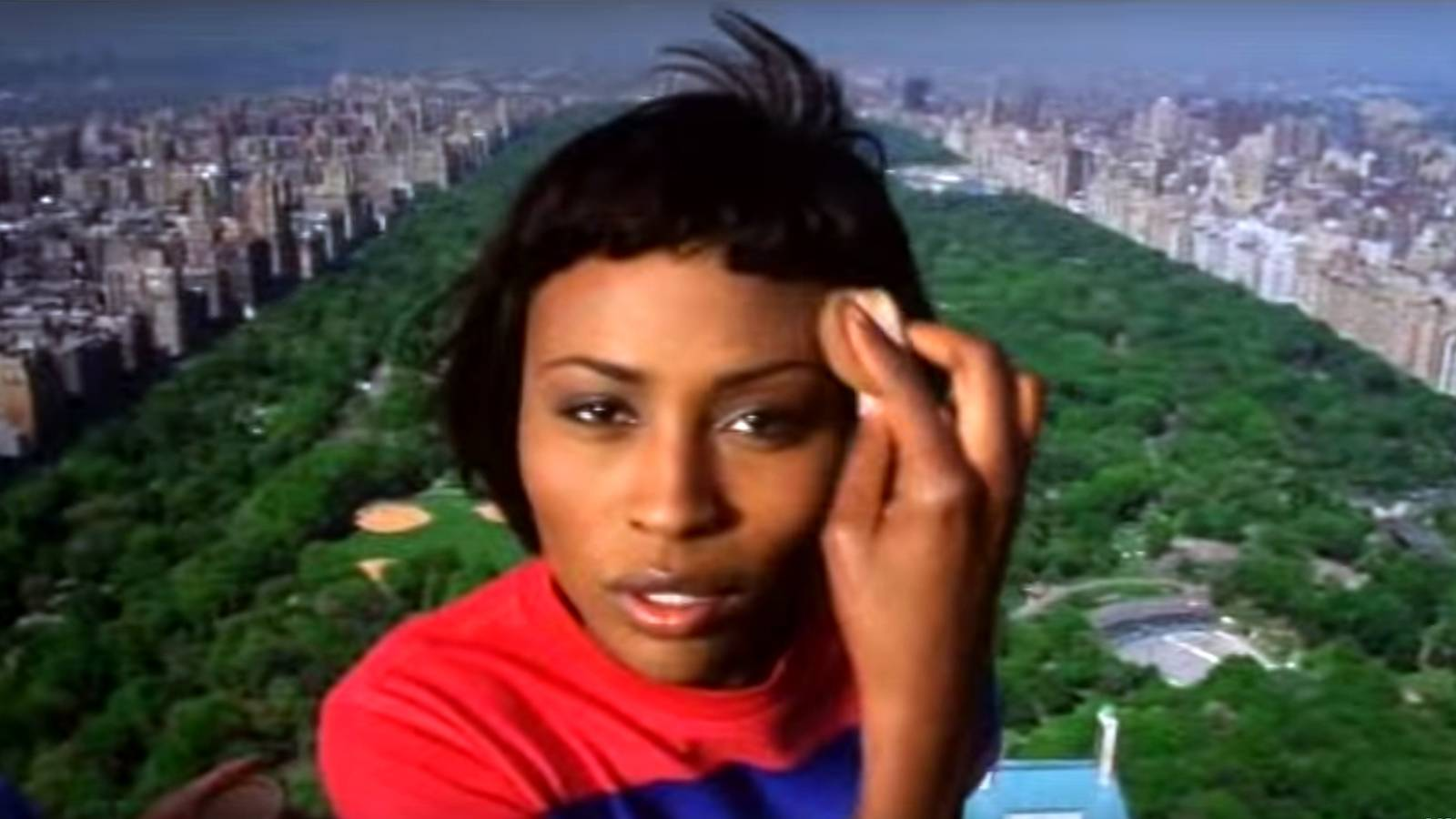 """Starting Out  - Before coming into her own as the social elite, housewife and reality television star we know today, Cynthia Bailey was debuting her video model skills in the Heavy D music video """"Nuttin But Love."""" This video was one of the first to feature super models instead of the typical around-the-way girls or video vixens. Classy! (Photo: Universal Records)"""