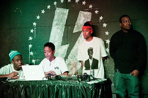 Syd Tha Kyd ? Odd Future - Syd tha Kyd is the only female member of the Los Angeles-based alternative hip hop collective Odd Future. Although Syd doesn't jump into the limelight often, she's integral to the crew in her role as the crew's DJ and is responsible for bringing the crew together in the first place to record in her parents' home studio.(Photo: Courtesy Red Records)