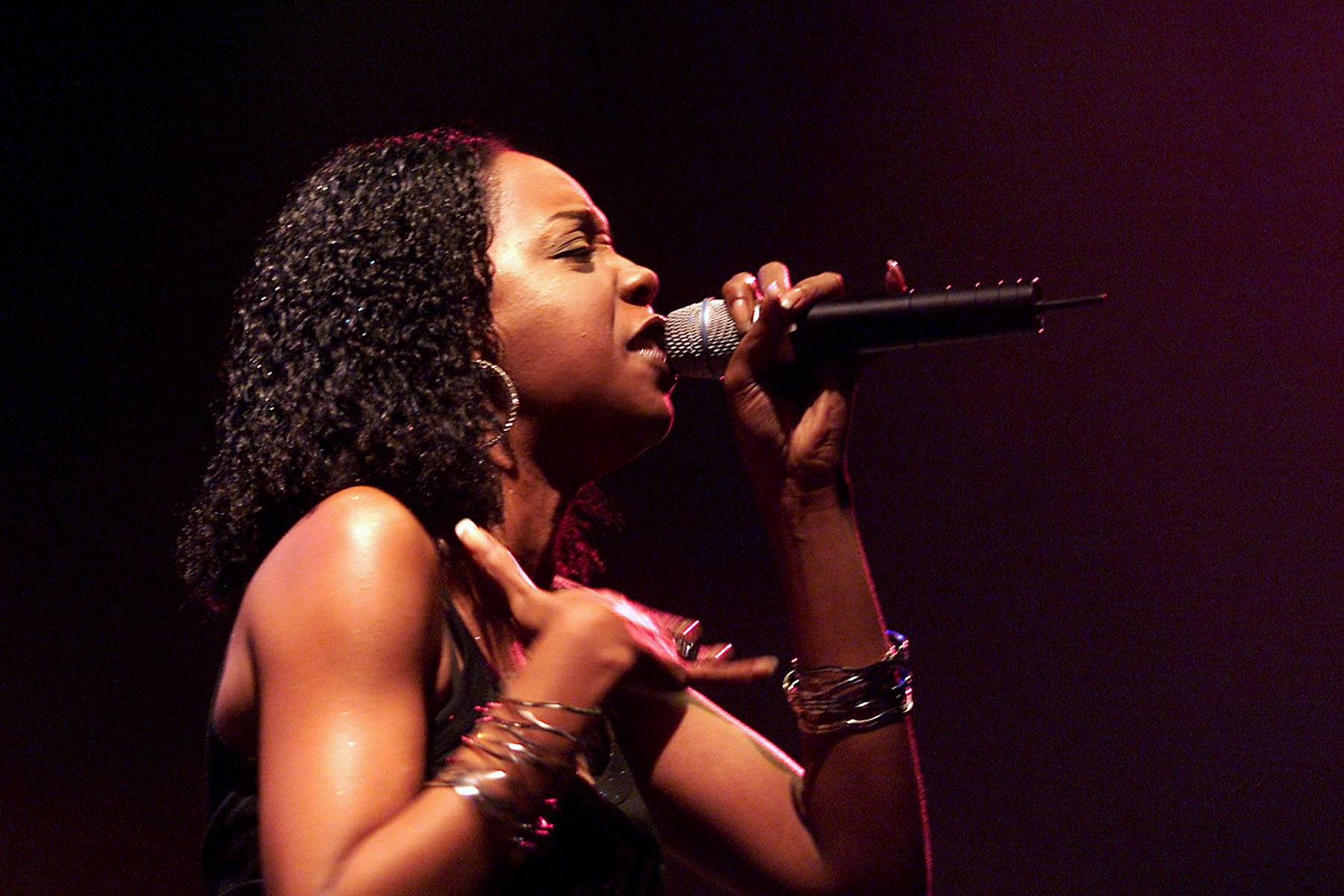 Rah Digga ? Da Outsidaz - Before linking up with Busta Rhymes and joining his Flipmode Squad, Rah Digga was the only female in Da Outsidaz clique.(Photo: Scott Gries/ImageDirect)
