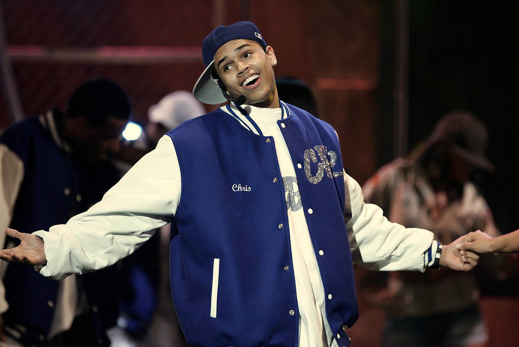 Time Will Tell - Young singer Chris Brown performs on stage at the 20th Annual Soul Train Awards, showing how much he's been paying attention to artists like Michael Jackson, with his on-fire dance moves and high-pitched vocals. (Photo: Vince Bucci/Getty Images)