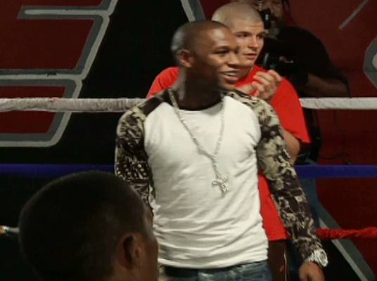 Money Mayweather Boys - Mayweather selects Andy Roberts and Diamond Jones for his team.