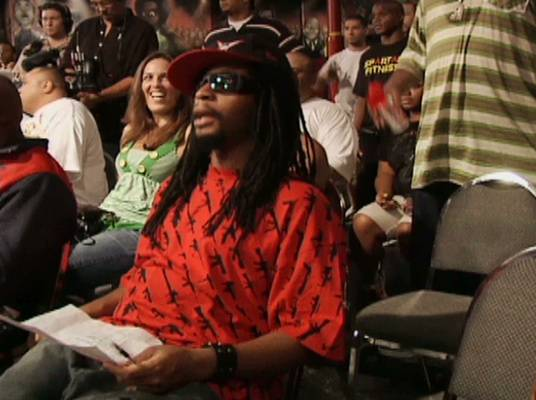 Yeah! - Lil' Jon looks on. By the end of the show, his team will be selected.