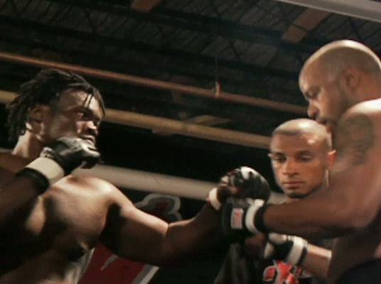 Abongo vs. Ford - The two do their thing in the ring, and Abongo dominates from the beginning.