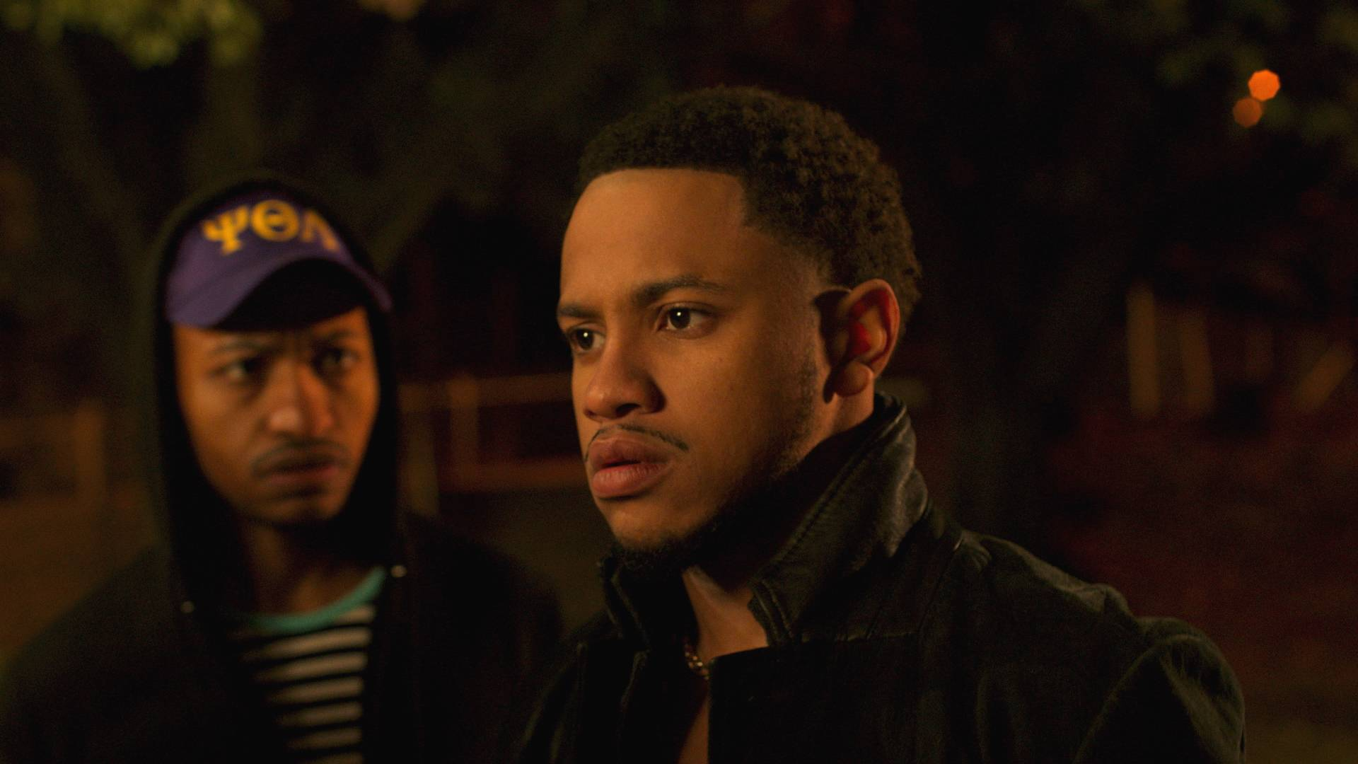 Tequan Richmond locks in the eye contact - (Photo: BET)