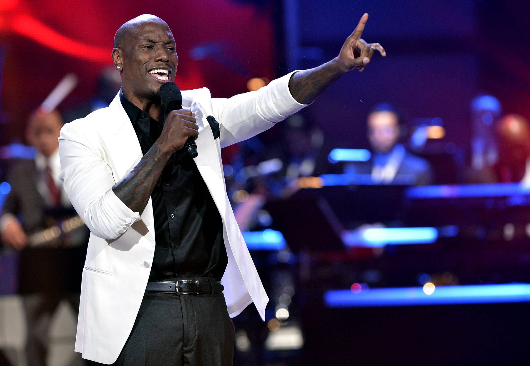 Tyrese - No stranger to the Celebration of Gospel stage, Tyrese's raw, powerful vocals can carry any tune, command a performance and will remind you of the passion that Hezekiah Walker has for his art, if even for just a moment.  (Photo: Earl Gibson III/Getty Images for BET)