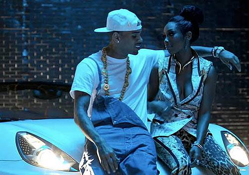 """33. Brandy ft. Chris Brown """"Put It Down"""" - Brandy teamed up with Chris Brown for her comeback single, ?Put It Down.?(Photo: RCA Records)"""