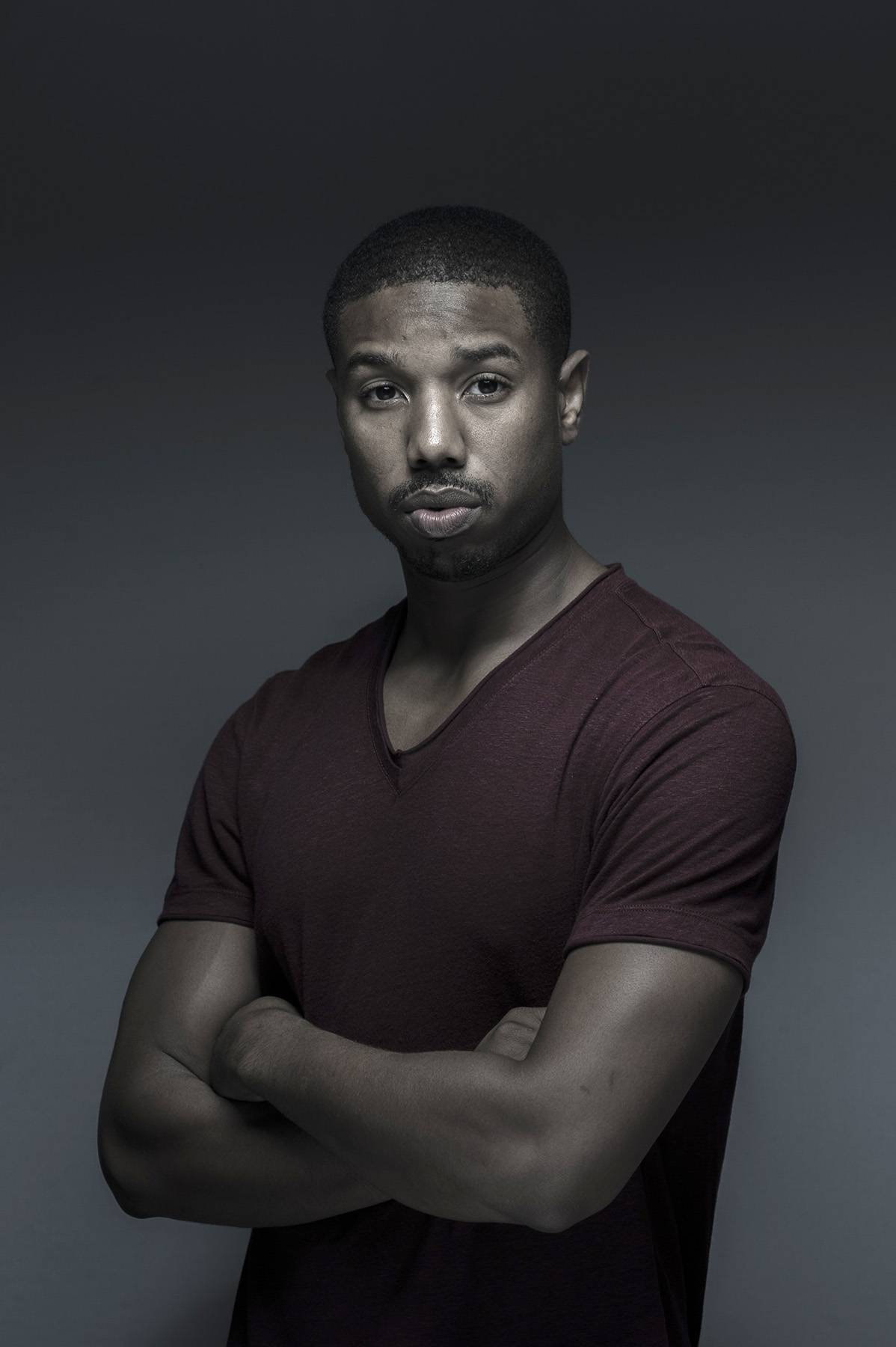 Michael B. Jordan's Serious Face - (Photo: Gareth Cattermole/Getty Images for DIFF)