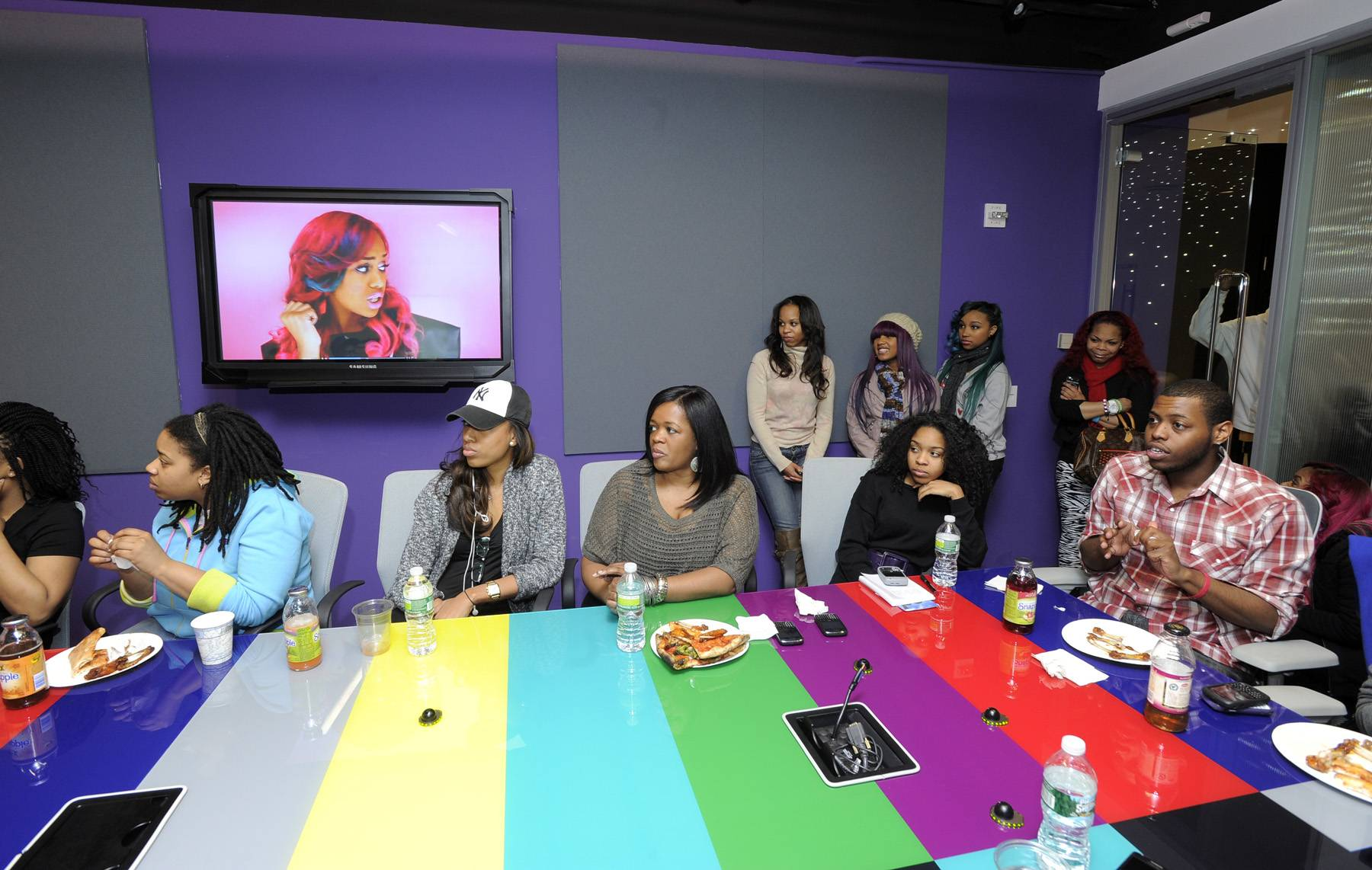 """All About OMG! - Do y'all see """"Gucci This, Gucci That"""" playing in the background?(Photo: John Ricard / BET)"""