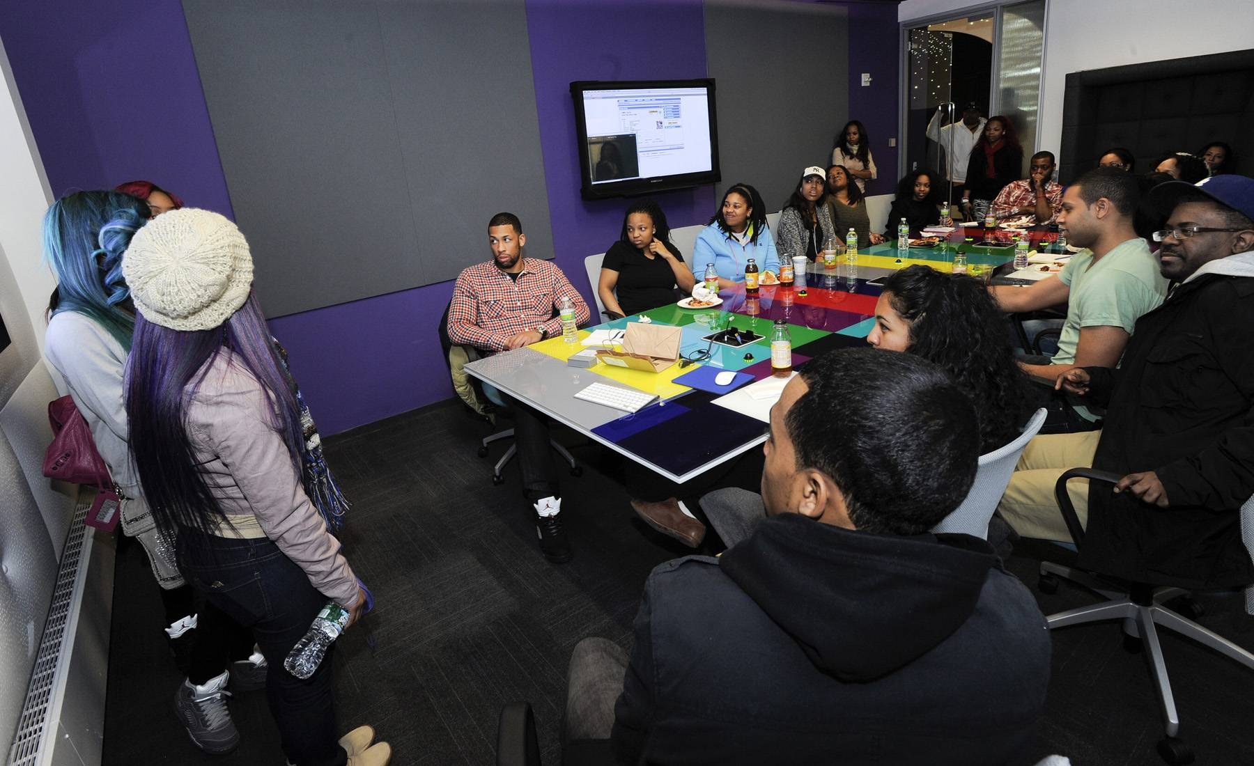 Never Scared - The OMG Girlz don't just sing and dance, they also get down with a little bit of public speaking and we're not mad at them!(Photo: John Ricard / BET)