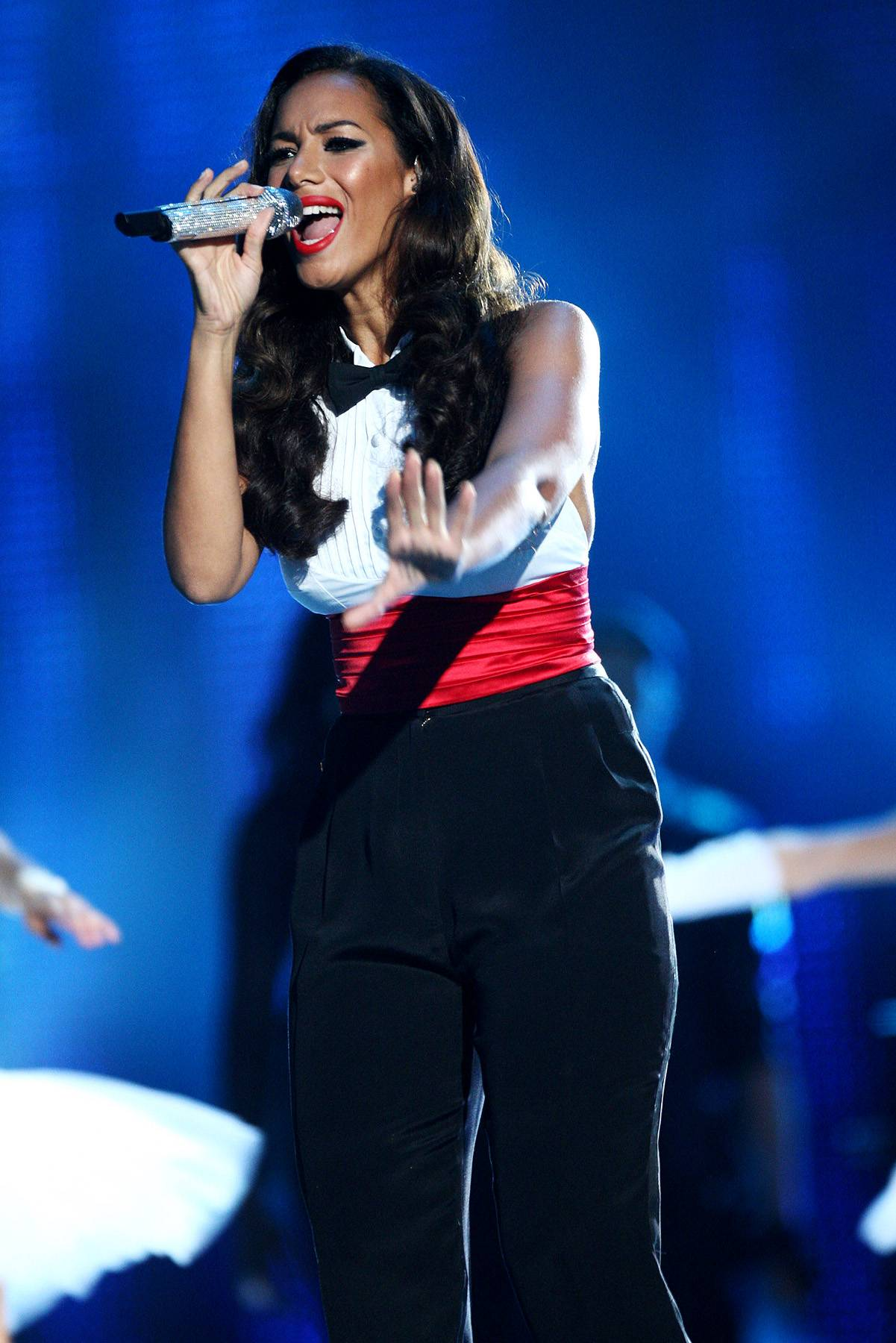 Leona Lewis - Before we had the competition talent show X Factor in America, there was the X Factor in England. Leona Lewis got her start there in 2006, won the competition and then hit the charts. It's been smooth sailing ever since!(Photo: Dave J Hogan/Getty Images)
