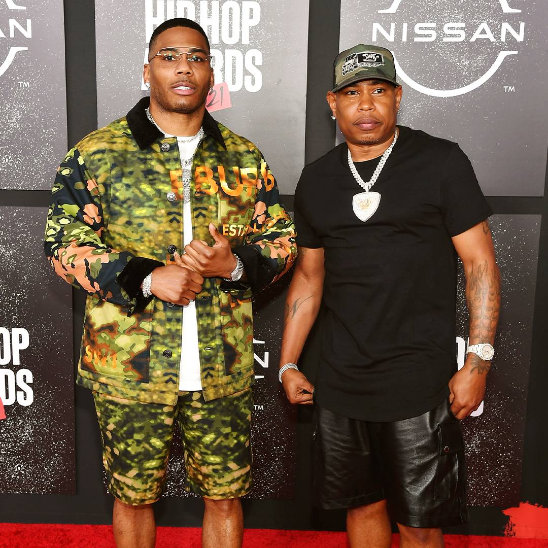 BET Hip Hop Awards 2021 | Red Carpet Nelly and City Spud | 1080 x 1080